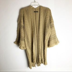 Do Everything In Love Chunky Knit Open Cardigan OS